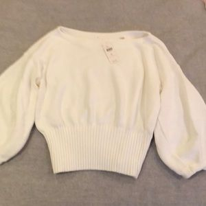NWT Anthropologie Knitted & Knotted Sweater XS